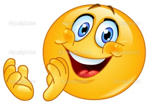 Clapping emoticon